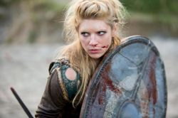 "From the History Channel's ""Vikings."" Also strangely hot."