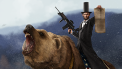 Bear and Lincoln